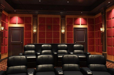 dedicated home theaters and theater seating home theater systems