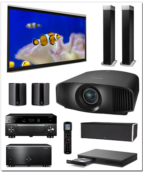 home theater package 3 19 home theater systems. Black Bedroom Furniture Sets. Home Design Ideas